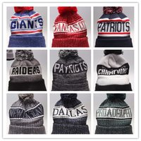 e80e8267c30 2018 Newest wholesale Beanies Football Knit Hats Sports Cap The City Cap  Mix Match Order All Caps in stock Top Quality Hat More 5000+Styles
