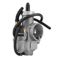 Wholesale bikes carburetor resale online - 30mm Carburetor Keihin Carb For Motorcycle cc cc ATV Go Kart Dirt Bike