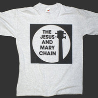 181755aa THE JESUS AND MARY CHAIN PUNK ROCK T-SHIRT GREY sonic youth S M L XL 2XL 3XL