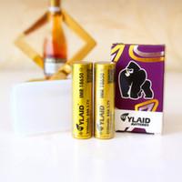 импортные батареи оптовых-Топ США импорт YLAID 18650 аккумулятор 3.7 в 3100 мАч 60A Золотой гориллы литий-lon аккумулятор электронные сигареты батареи питания