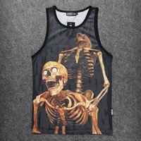 Wholesale Tshirt Vest Men - New 2018 Cotton Muscle TShirt Golds Brand Men Clothing Tank Top Man Stort Sleeveless Tops Tees Bodybuilding stringer Vest Plus Size