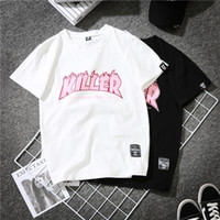 Wholesale new korean women fashion blouse - Fashion Women Casual T-shirt Short Sleeves Tees Print Shirt Blouses Summer New Korean Fashion Retro Tshirt Tops Blusa