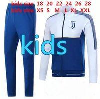 Wholesale three quarter sleeve suit jacket - 2017 2018 KIDS DYBALA long sleeves full zipper Football jacket sportswear 17 18 juv HIGUAIN MARCHISIO soccer jersey jacket Training suit