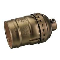 adaptador de bulbo de tornillo al por mayor-Lámpara Edison Vintage Base de luz Adaptador del soporte del zócalo E27 Bombillas Tornillo Accesorios de iluminación retro Bombillas