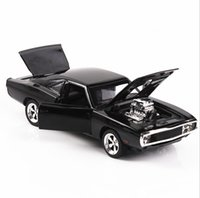 Wholesale dodge toys resale online - Car Model Speed and Passion Dodge War Horse Muscle Car Model Hot Car Die Alloy Toy Simulation
