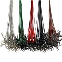 conectores de mosca al por mayor-Rolling Swivels de acero inoxidable Anti Winding Cable de pesca con mosca Lead Line Connector para fuentes de pesca al aire libre Venta directa de fábrica 0 25gf UU