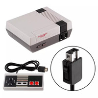 New Mini AV Out TV Game Console Video Handheld With Doule Game Controller for NES Games Consoles With Retail Pack Box