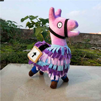 Wholesale Fortnite Troll Stash Llama Figure Doll Soft Stuffed Animal Toys Fortnite Stash Llama Plush Toy cartoon Stuffed doll cm