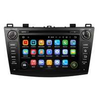 Wholesale gps dvd player mazda - 8Inch Octa-core 4GB RAM PX5 Cortex A53 Andriod 6.0 Car DVD player for Mazda 3 2009-2012 with GPS,Steering Wheel Control,Bluetooth