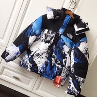 Wholesale mens cotton detachable collar resale online - 2019 Brand Fashion Luxury Designer Mens Jackets Winter New Casual Thick White Goose Down Men s Hoodie Stand Collar Parkas