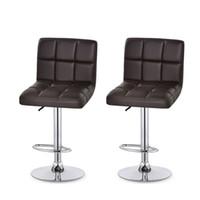 fezes modernas venda por atacado-Caixa do Escritório Fezes Recepção Cadeiras Girar Cadeira Elevador Ergonomia de Couro Bar Moderno Escritório Fezes Dentro de Mobiliário Comercial 98xt gg