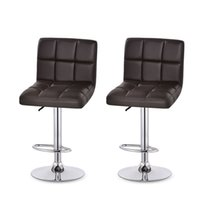 Wholesale genuine leather bars for sale - Cashier Office Stool Reception Chairs Rotate Chair Lift Bar Leather Ergonomics Modern Office Stools Indoors Commercial Furniture xt gg