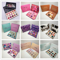 Wholesale makeup collection eyeshadow resale online - New Colourpop Makeup Palette designer collection colors Eyeshadow palette styles DHL shipping