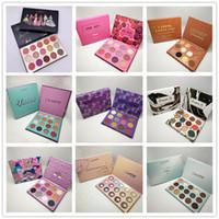novos estilos de sombra venda por atacado-Nova Colourpop Paleta De Maquiagem designer coleção 15 cores paleta Da Sombra 8 estilos DHL grátis