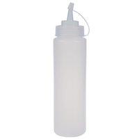 Wholesale Plastic Sauce Bottles - Wholesale White plastic bottle dispenser Compression Sauce - 24 oz