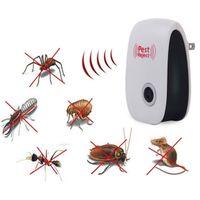 anti maus moskito großhandel-UK EU US PLUG Elektronische Pest Repeller Ultraschall Rejector Maus Moskito Ratte Maus Repellent Anti Moskito Killer Rode Pest Reject