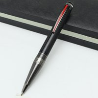 Wholesale Unique Luxury Gifts - Luxury Unique Design AAA quality MB black fountain pens stationery for writing office school supply MT Brand Rollerball pens as gift