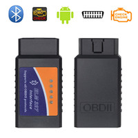 Wholesale ELM327 Auto Car Diagnostic Scanner V2 Interface Works On Android PC Torque CAN BUS Bluetooth OBD2 OBD II Scan Tool