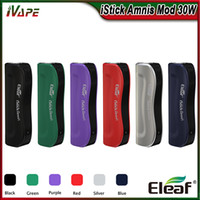indicador de batería de cigarrillo al por mayor-100% original Eleaf iStick Amnis Battery Buit-in 900mAh Mod 30W con indicador LED de colores Indicador de cigarrillo electrónico Vape Mod fit GS Drive Tank
