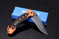 Wholesale cold steel 57hrc resale online - Cold Steel Tactical Knife CR17 HRC Blade Folding Knife Outdoor Hunting Hiking EDC Pocket Survival Knives Xmas Gift For Men P622F