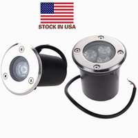 Wholesale path lighting for sale - US Stock Outdoor Underground LED Lamp Light W W IP67 Waterproof Garden Path Buried Yard Landscape Deck LED Lights AC V