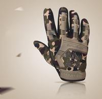 handschuhe taktisch voll großhandel-Outdoor-Sporthandschuhe des vollen Fingers hawk taktischer Schutz radfahrentrainingsarmee lockert Spezialkräfte Handschuh freies Verschiffen 015 auf