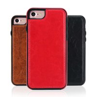 Wholesale iphone6 plus case leather for sale - PU Leather Phone Case for iPhone iPhone iPhone6 plus iPhone X Case Tpu soft Back Cover Phone Holder