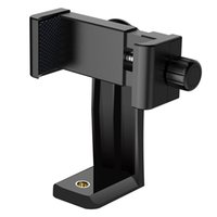 Wholesale new brackets for sale – best NEW Phone Holder Phone Tripod Head Mount Adapter Rotatable Bracket Selfie Monopod Adjustable Clamp High Quality