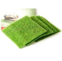 ingrosso paesaggio verde del prato inglese-Prato Micro in miniatura Decorazione di paesaggio FAI DA TE Giardino di fata Piante di simulazione Artificiale Fake Moss Decorativo Prato Erba verde