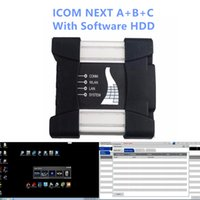 Wholesale next sets - For BMW obd2 connector ICOM NEXT A+B+C with the latest software included in 500GB HDD hard disk full set of car diagnostic tools