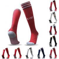 Discount gold football socks - 2018 World Cup soccer socks adults kids Argentina Belgium Germany Russia Colombia Mexico Japan Sweden Switzerland Spain Uruguay top quality