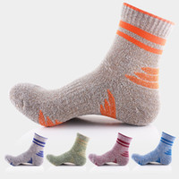Wholesale Mens Socks For Winter - Wholesale 2018 Winter Mens Outdoor Hiking Socks Mountaineering Skiing Socks For Men Sport Socks 5 Color Free DHL G511S