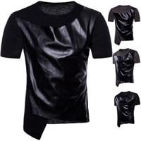 chemise kanye west achat en gros de-T-shirt à manches courtes col rond taille US tendance pour la conception de danse hip-hop mens t-shirt