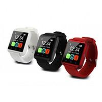 силиконовые электронные спортивные наручные часы оптовых-Электронное устройство наручные часы портативный телефон носимых Bluetooth цифровой дисплей творческий силиконовый ремешок спортивные часы анти потерять 23hy jj