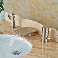 Wholesale Wall Mounted Waterfall Bath Faucets Buy Cheap Wall