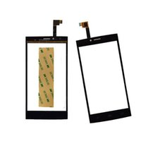 Wholesale Thl Wholesale - Black Touch Screen Sensor For THL T6 T6S Phone Touch Screen Digitiz Front Glass Lens Replacement Mobile Phone Front Panel