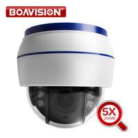 vitesse de caméra dôme wifi achat en gros de-Caméra IP dôme de vitesse sans fil PTZ Wifi HD 1080P 960P 5X Zoom 2.7-13.5mm Intérieur Auto Focus Audio SD Carte Nuit Nuit Onvif WI-FI