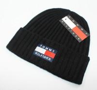 Wholesale luxury woman mask online - 2018 New luxury brand winter Hat Skullies Beanies Men Women Knitted Warm Hat Winter Caps Mask Balaclava Bonnet Cap Cotton Beanies Hats