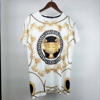 Wholesale printing copy - AA Copy Europe and the United States the world's high-quality printing is very perfect head There Medusa label Men's T-Shirts Asia size