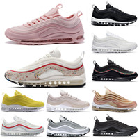 00b4e5a40a1 2018 nike air max 97 airmax roshe run Brand New Men Low air 97 Coussin  Respirant Casual Chaussures Pas Cher de Massage Courir Plat Sneakers Homme  97 Sports ...