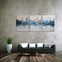 Wholesale wall beds more for sale - Abstract Street View Scenes Panel Canvas Oil Painting Abstract Type Home Decor Wall Picture For Living Room Bed Room Unframed