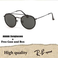 fc2428814d 1pcs High Quality Classic Steampunk Sunglasses Men Women Brand Designer  Metal frame Glass Lens Retro Vintage sun glasses with cases and box