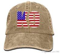 ingrosso cappelli blu jean-pzx @ Berretto da baseball per uomo donna, K-9 Blue Lives Matter Bandierina USA Berretto jeans regolabile cotone donna Hat Multi-color opzionale