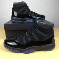 Wholesale Mens Gowns - 2018 cap and gown XI 11s PROM NIGHT 11 BLACKOUT 378037-005 Men women Basketball Shoes Athletic Sneakers Mens 11s Sport Trainer shoes 36-47