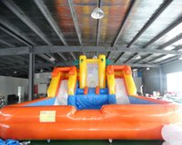 Wholesale toy water slides resale online - popular inflatable bouncy with water slide inflatable water slide for kids and adults