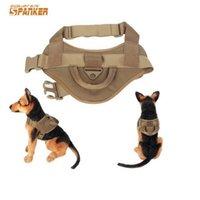 entraînement à engrenages achat en gros de-En gros SPANKER tactique militaire haute qualité chasse gilet loi application chien formation gilet airsoft sport équipement de chasse