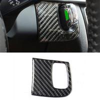 Wholesale audi a4 keys resale online - For Audi A4 B8 Carbon Fiber Center Console Key Hole Decoration Cover Trim Interior Accessories Car Styling Sticker