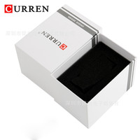 Wholesale curren white - Curren Brand New Fashion Watches Boxes Luxury Brand Wristwatches Box for Watches CURREN Wristwatches Box 01