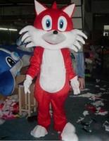 traje de raposa de alta qualidade venda por atacado-Alta qualidade quente Fox Deus da Riqueza Macaco trajes da mascote adereços trajes Halloween frete grátis