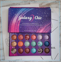 Wholesale baked eyeshadow makeup resale online - Best selling New Eyes Makeup Galaxy Chic colors Baked Eyeshadow Palette Galaxy Chic Baked Eye Shadow Palette